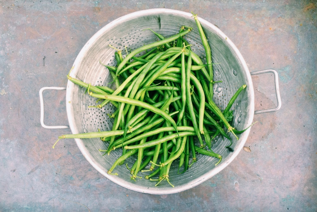 Green Beans Washed and Strained